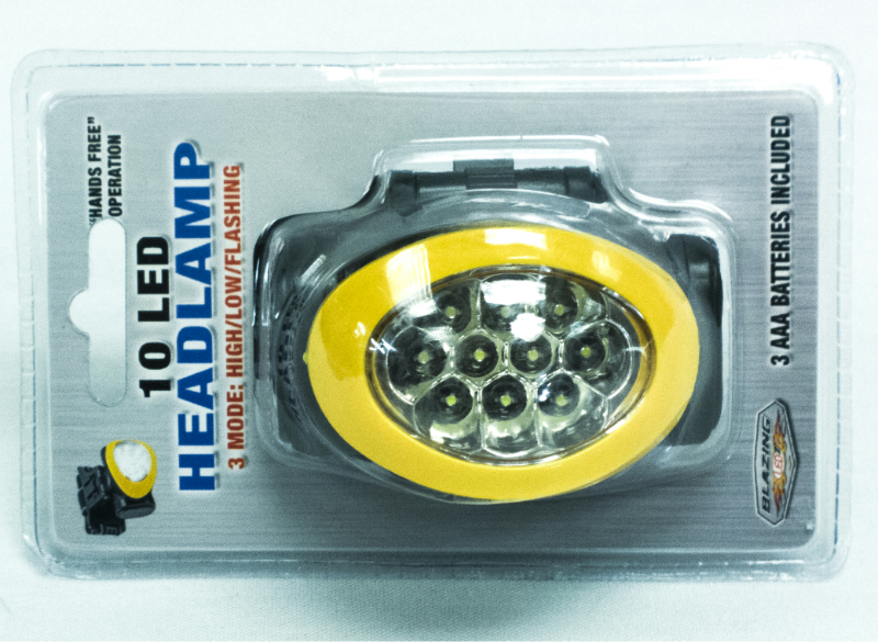 Headlamp 10 Led (SKU 106053018)