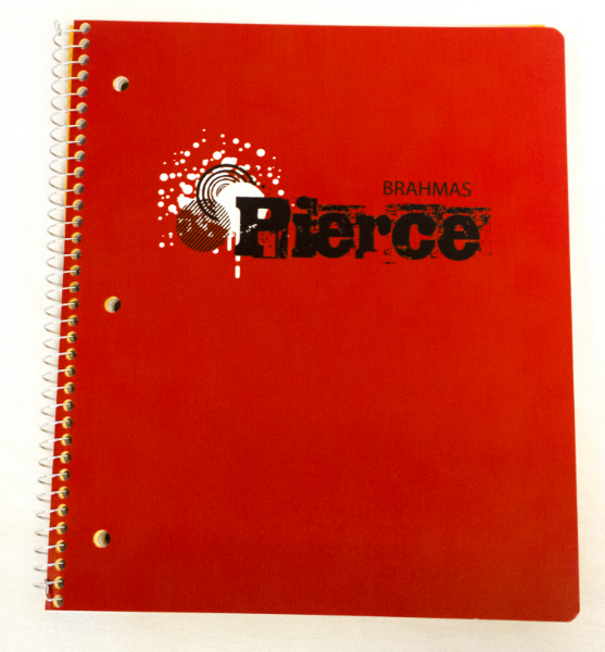 Pierce Brahmas 3 Subject Notebook (SKU 1061143228)