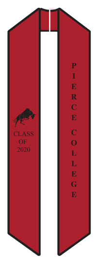 2020 Pierce College Sash