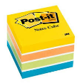 3M Post-It Notes Cube 400 Sheets