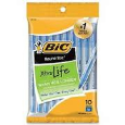 Bic Round Stic Xtra Life 10 Pack Blue Ink