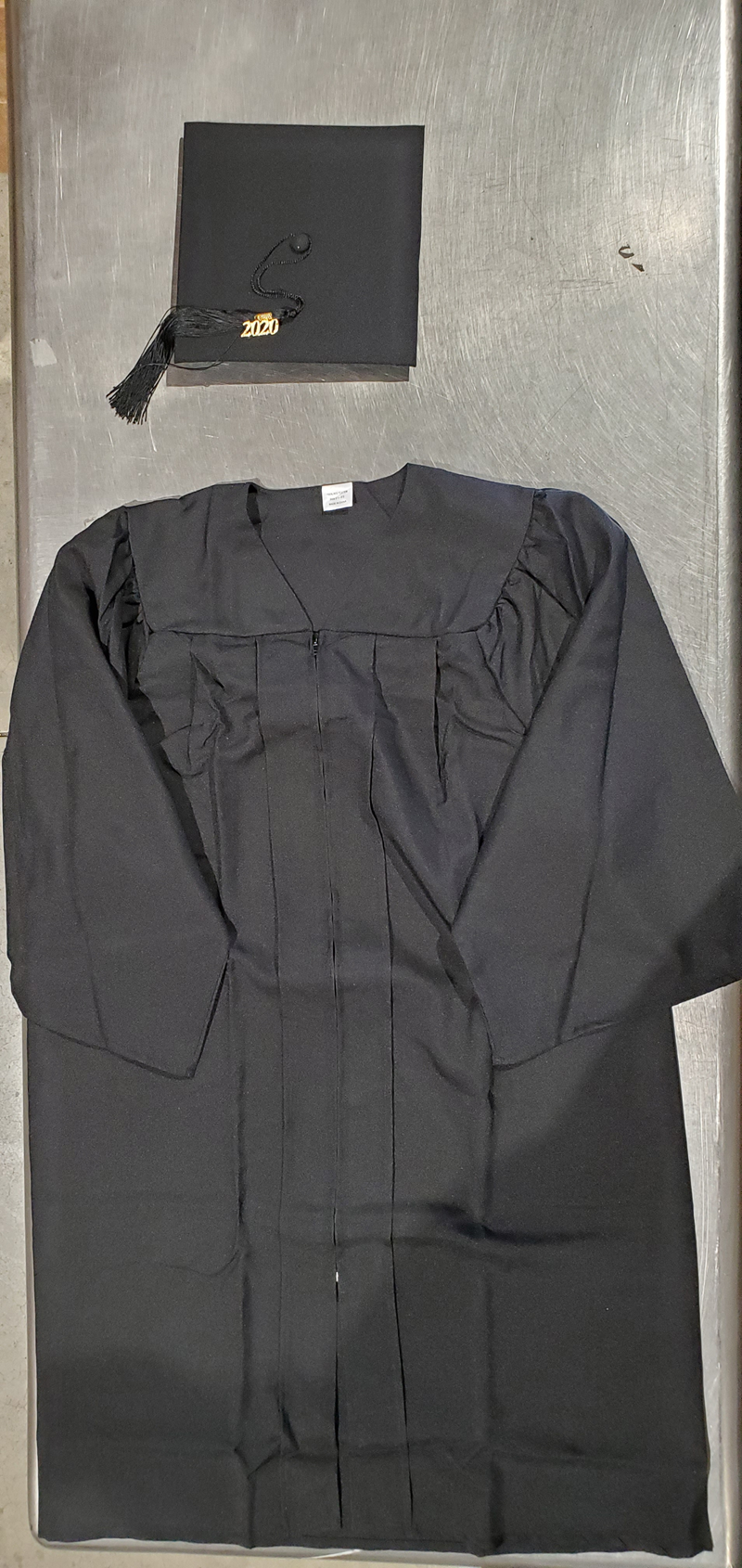 Cap, Gown, Tassel Without Sash (SKU 1125355642)