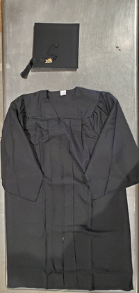 Cap, Gown, Tassel With Sash