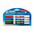 Expo Dry Erase Markers Fine Tip 4 Pack