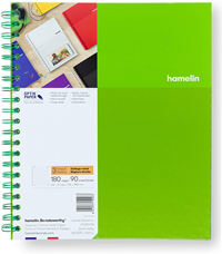 HAMELIN 3 SUBJECT NOTEBOOK 90G