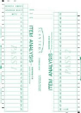 Instructor Scantron Answer Key