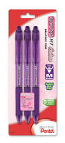 Pentel Rsvp Rt Colors Medium 3 Pack Violet