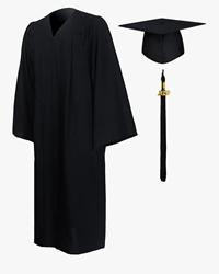 Pierce Cap And Gown