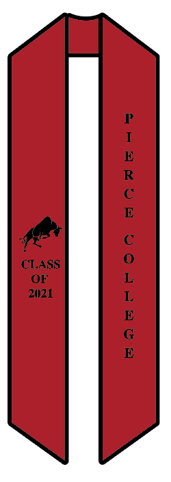 Pierce College Sash (SKU 1034412542)