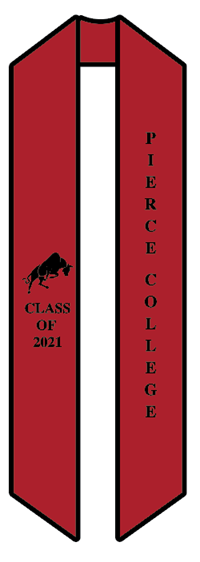 Pierce College Sash