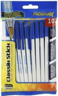 Promarx Tc Ball Medium Blue Ink 10 Pack