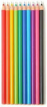 Rainbow Colored Pens 10 Pack