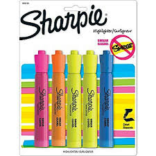 Sharpie Highlighter Chisel Tip 4 Pack (SKU 100293675)