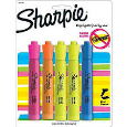 Sharpie Highlighter Chisel Tip 4 Pack