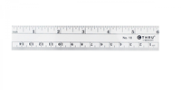 Westcott Inch/Metric 6In Ruler